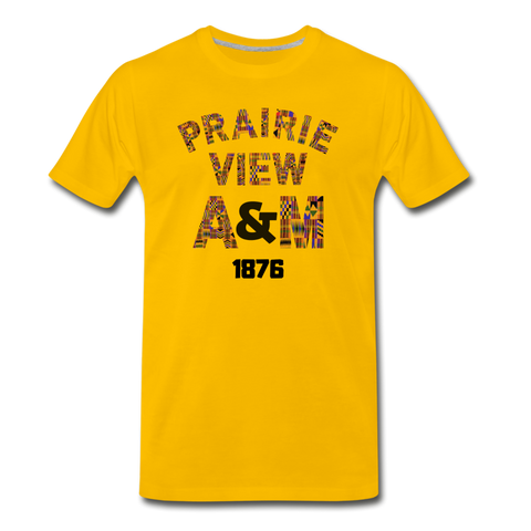 Prairie View A&M Univeristy Rep U Heritage T-Shirt - sun yellow