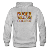 Roger Williams College Rep U Heritage Adult Hoodie - heather gray