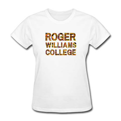Roger Williams College Rep U Heritage Women's T-Shirt - white