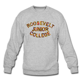 Roosevelt Junior College Rep U Heritage Crewneck Sweatshirt - heather gray