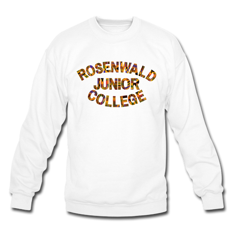 Rosenwald Junior College Rep U Heritage Crewneck Sweatshirt - white