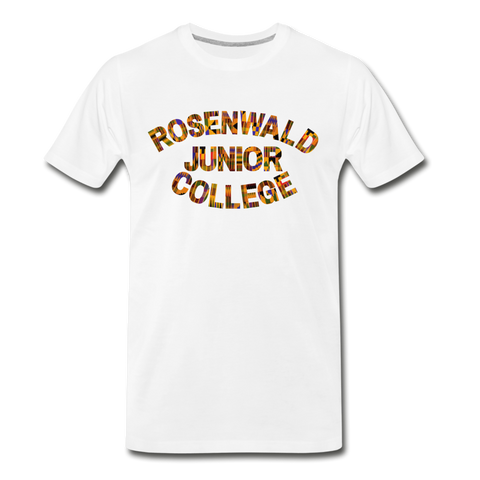 Rosenwald Junior College Rep U Heritage T-Shirt - white