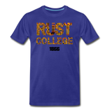 Rust College Rep U Heritage T-Shirt - royal blue