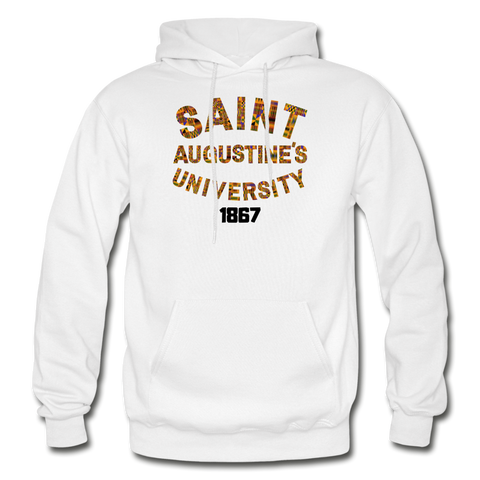 Saint Augustine's University Rep U Heritage Adult Hoodie - white