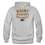 Saint Augustine's University Rep U Heritage Adult Hoodie - heather gray