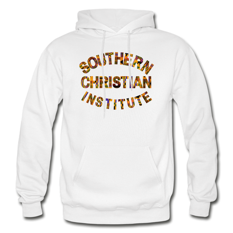 Southern Christian Institute Rep U Heritage Adult Hoodie - white