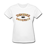 Tuskegee University Rep U Heritage Women's T-Shirt - white