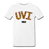 University of the Virgin Islands (UVI) Rep U Heritage T-Shirt - white