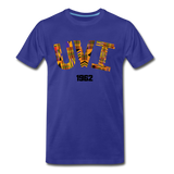University of the Virgin Islands (UVI) Rep U Heritage T-Shirt - royal blue