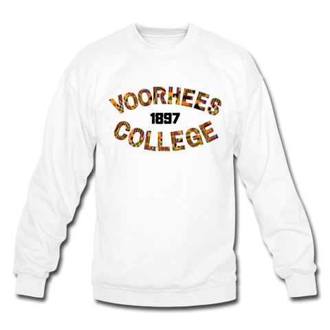 Voorhees College Rep U Heritage Crewneck Sweatshirt - white