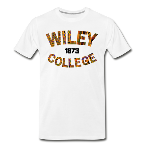 Wiley College Rep U Heritage T-Shirt - white