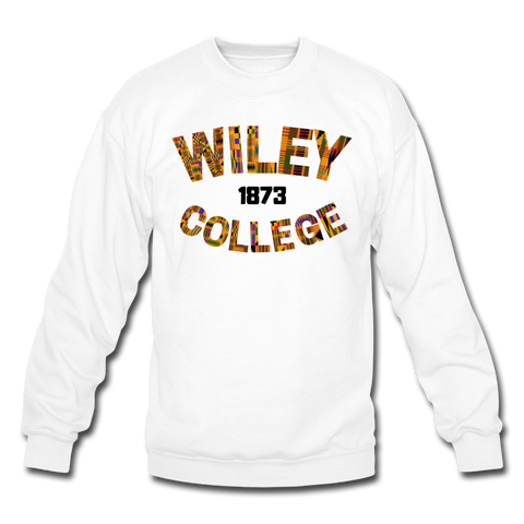 Wiley College Rep U Heritage Crewneck Sweatshirt - white