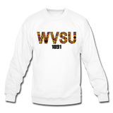 West Virginia State University (WVSU) Rep U Heritage Crewneck Sweatshirt - white