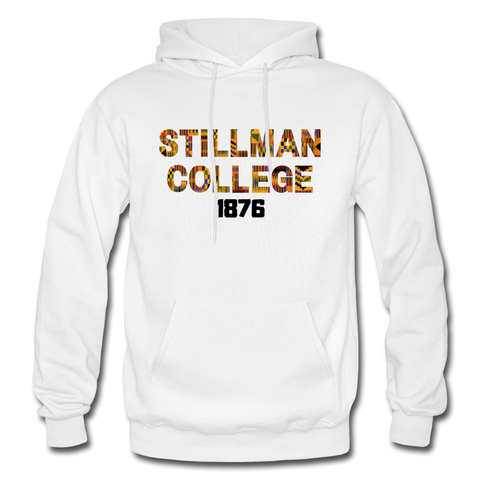 Stillman College Rep U Heritage Adult Hoodie - white