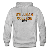 Stillman College Rep U Heritage Adult Hoodie - heather gray