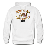 Southern A&M University Rep U Heritage Adult Hoodie - white