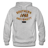 Southern A&M University Rep U Heritage Adult Hoodie - heather gray