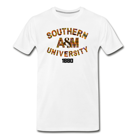 Southern A&M University Rep U Heritage T-Shirt - white