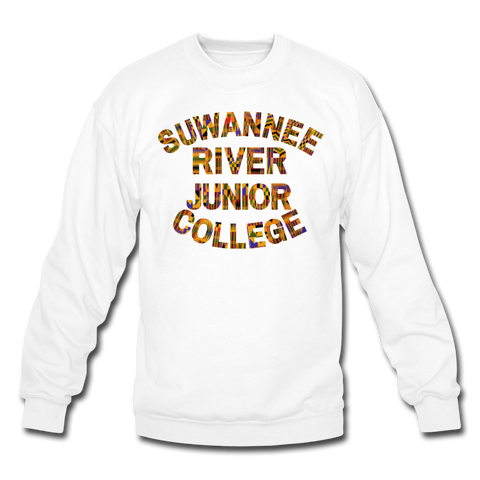 Suwanee River Junior College Rep U Heritage Crewneck Sweatshirt - white