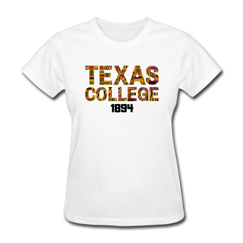 Texas College Rep U Heritage Women's T-Shirt - white