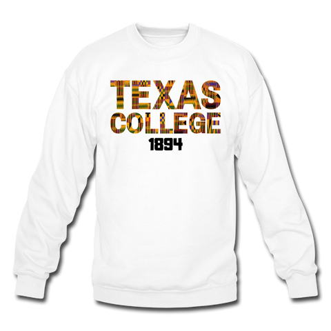 Texas College Rep U Heritage Crewneck Sweatshirt - white