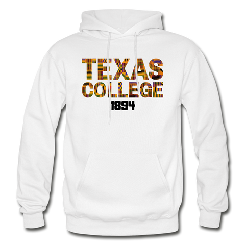 Texas College Rep U Heritage Adult Hoodie - white