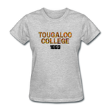 Tougaloo College Rep U Heritage Women's T-Shirt - heather gray