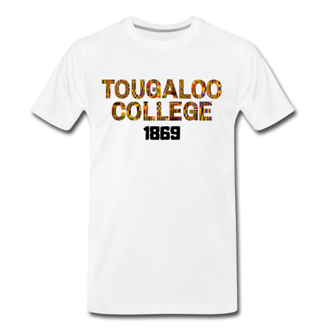 Tougaloo College Rep U Heritage T-Shirt - white