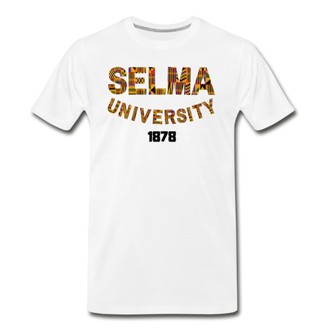 Selma University Rep U Heritage T-Shirt - white