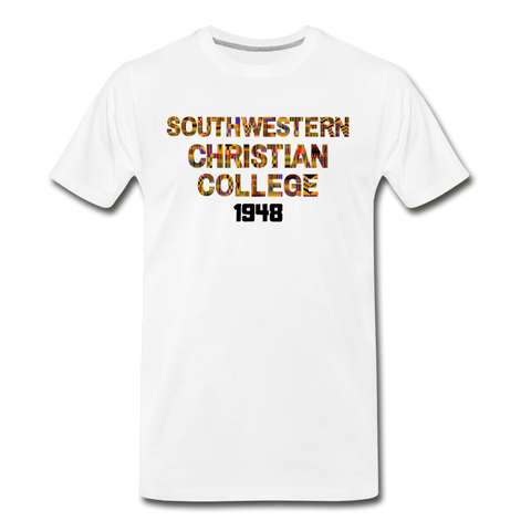 Southwestern Christian College Rep U Heritage T-Shirt - white