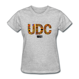 University of the District of Columbia (UDC) Rep U Heritage Women's T-Shirt - heather gray