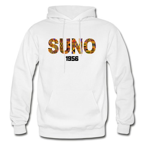 Southern University at New Orleans (SUNO) Rep U Heritage Adult Hoodie - white