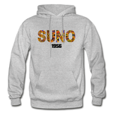 Southern University at New Orleans (SUNO) Rep U Heritage Adult Hoodie - heather gray