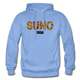Southern University at New Orleans (SUNO) Rep U Heritage Adult Hoodie - carolina blue