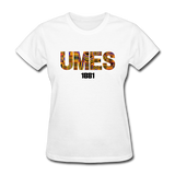 University of Maryland Eastern Shore (UMES) Rep U Heritage Women's T-Shirt - white