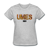 University of Maryland Eastern Shore (UMES) Rep U Heritage Women's T-Shirt - heather gray