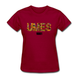 University of Maryland Eastern Shore (UMES) Rep U Heritage Women's T-Shirt - dark red