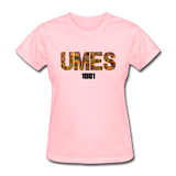 University of Maryland Eastern Shore (UMES) Rep U Heritage Women's T-Shirt - pink