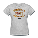 Virginia State University (VSU) Rep U Heritage Women's T-Shirt - heather gray