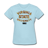 Virginia State University (VSU) Rep U Heritage Women's T-Shirt - powder blue
