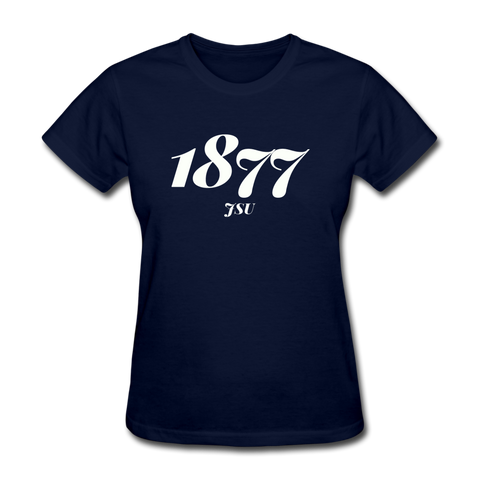 Jackson State University Rep U Year Women's T-Shirt - navy