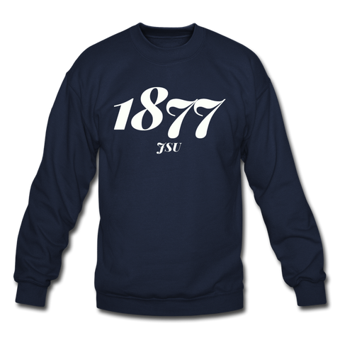 Jackson State University Rep U Year Crewneck Sweatshirt - navy