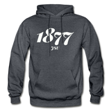Jackson State University Rep U Year Adult Hoodie - charcoal gray