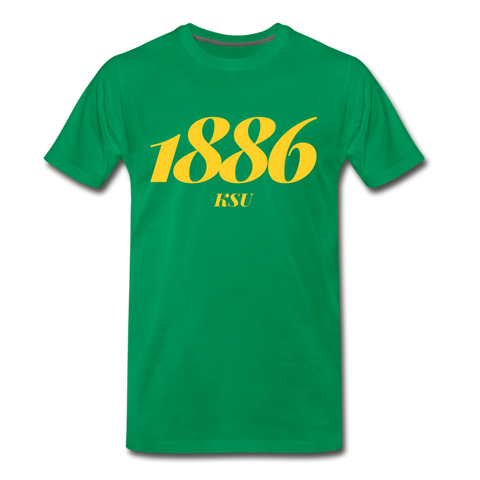 Kentucky State University Rep U Year T-Shirt - kelly green