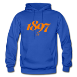 Langston University Rep U Year Adult Hoodie - royal blue