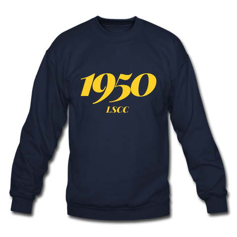Lawson State Community College Rep U Year Crewneck Sweatshirt - navy