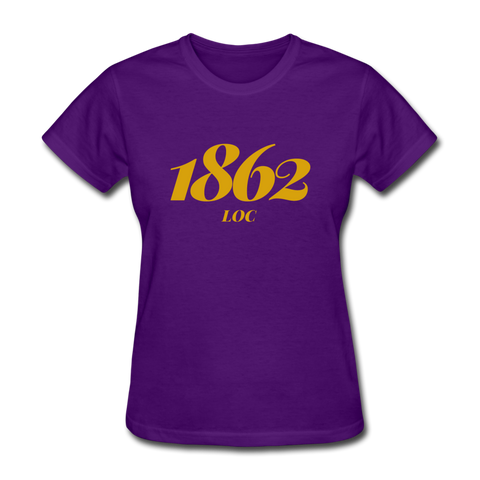 LeMoyne-Owen College Rep U Year Women's T-Shirt - purple