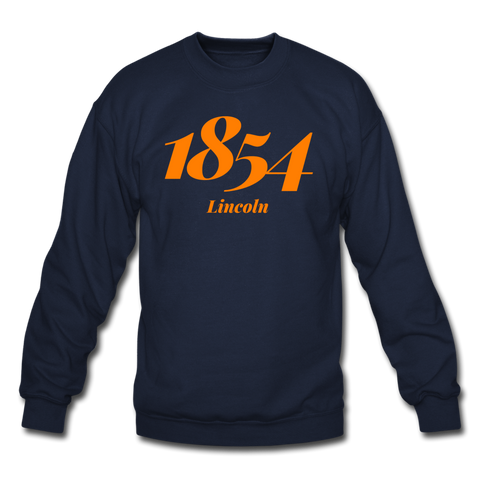 Lincoln University (Pennsylvania) Rep U Year Crewneck Sweatshirt - navy