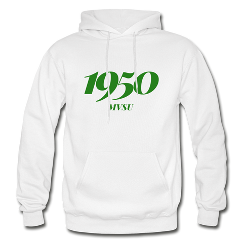 Mississippi Valley State University Rep U Year Adult Hoodie - white