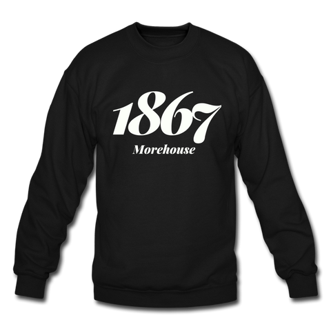 Morehouse College Rep U Year Crewneck Sweatshirt - black